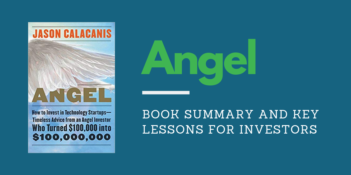 Jason Calacanis Angel Book Cover