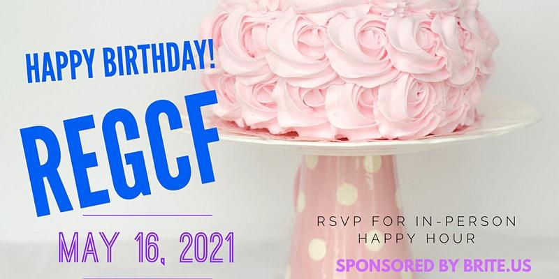 Reg CF Turns 5 - Happy Hour Celebration